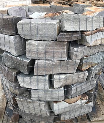 grey building stone